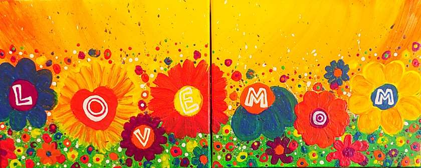 Mini - Love Mom Flowers