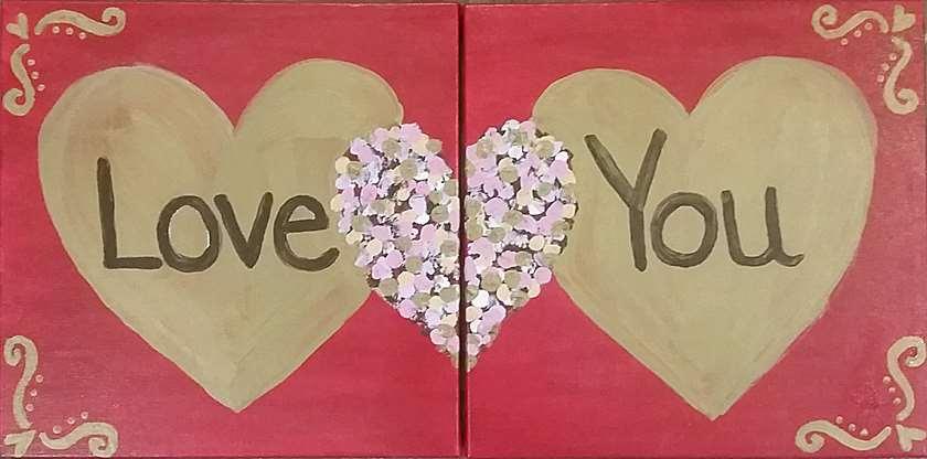 Mini - Lovely Hearts