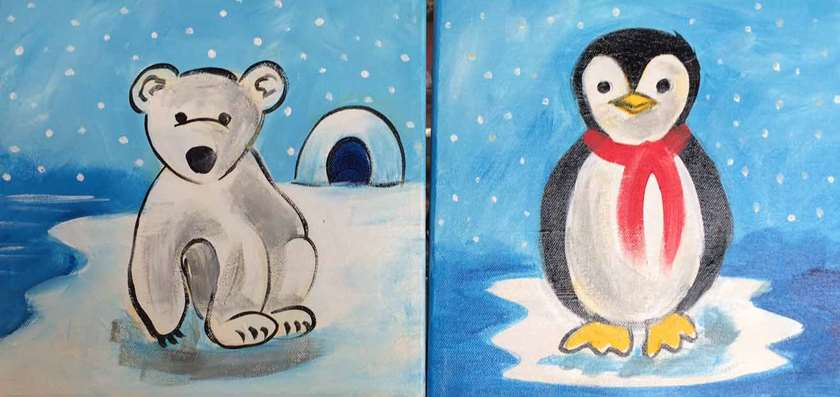 Mini - Penguins and Polarbears