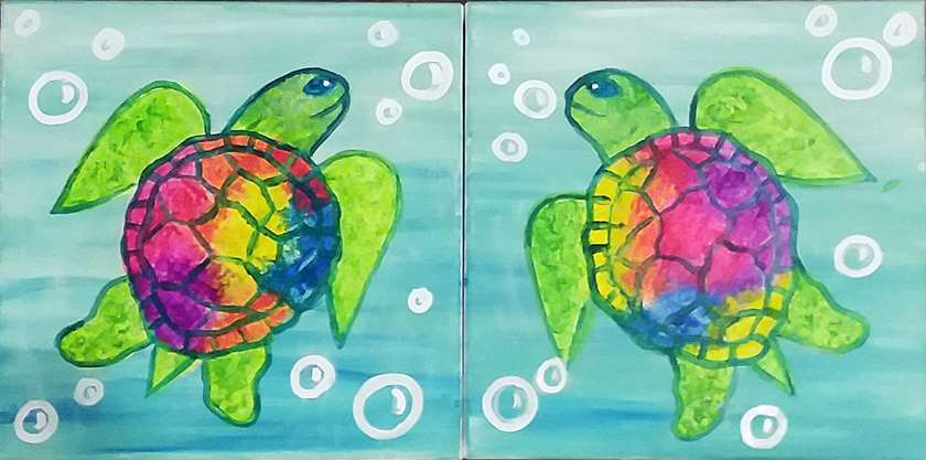 Mini - Sea Turtles