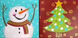 Mini - Snowman and Christmas Tree