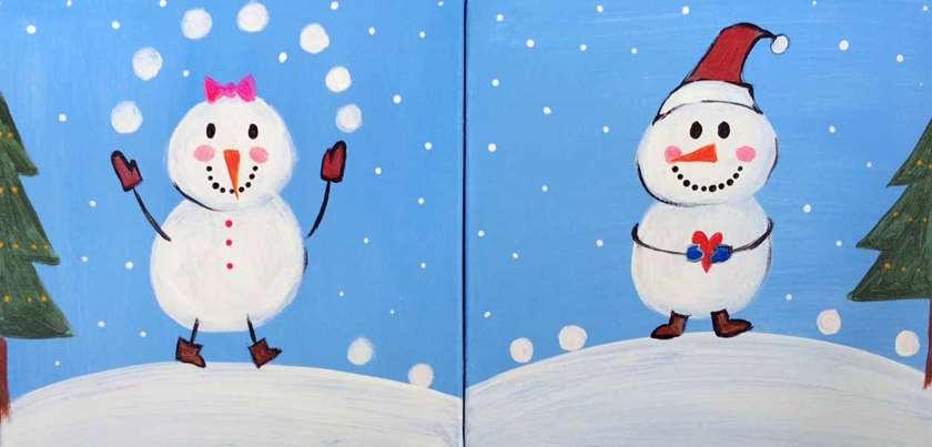 Mini - Snowmen