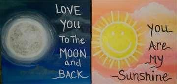 Mini - Sun & Moon