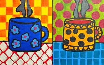 Mini - Warhol Coffee Mugs Series 1