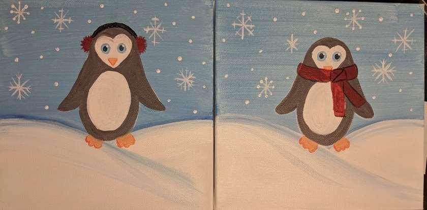 Mini - Winter Penguins