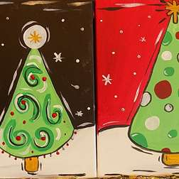 Mini- Christmas Trees