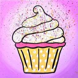 Mini-Confetti Cupcakes