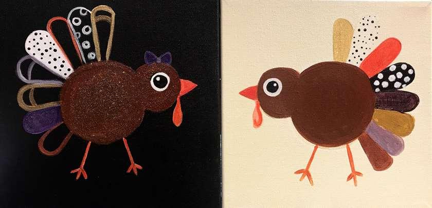 Mini Fancy Turkeys