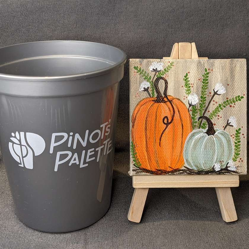 Mini Painting Video: Country Pumpkins