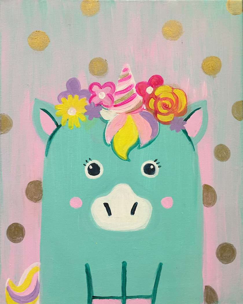 Minty the Unicorn