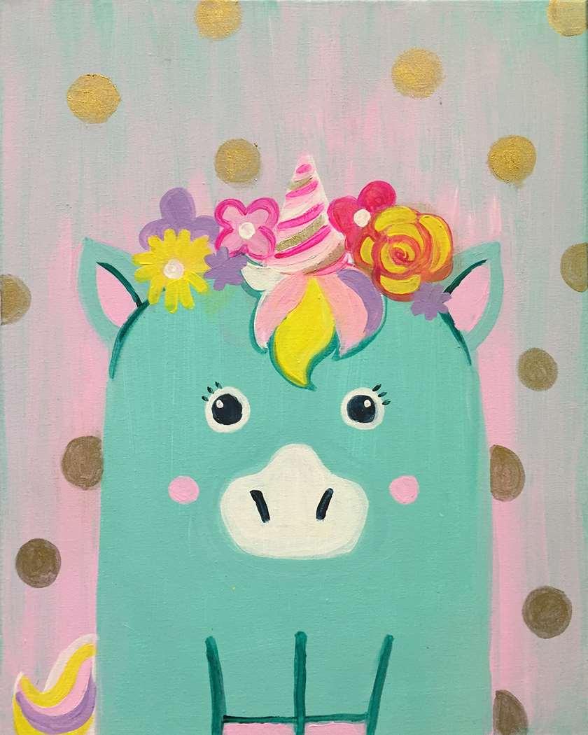 Minty the Unicorn