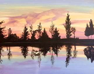 Mirrored Sunset