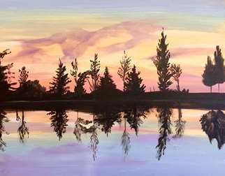 Mirrored Sunset
