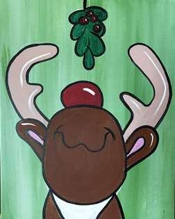 Mistletoe Rudolph