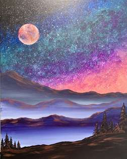 Misty Mountain Galaxy