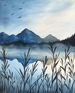 Misty Mountain Morning