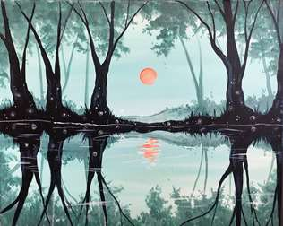 Misty Reflections