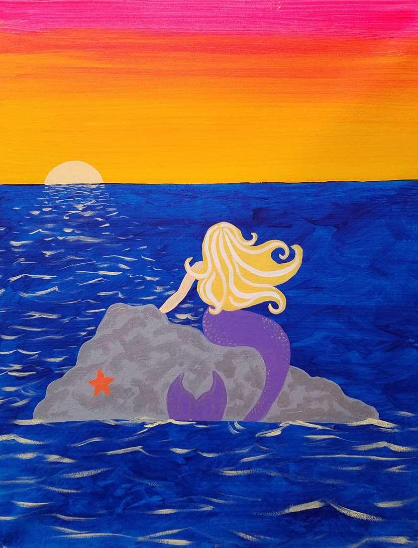 Mixi the Mermaid