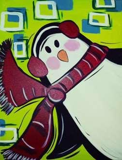 Mod Holiday Penguin