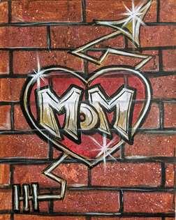 Mom Graffiti