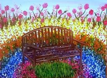 Monet Inspired Garden