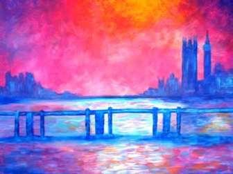 Monet's Charing Cross Bridge
