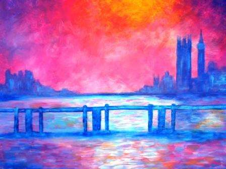 Monet's Charing Cross Bridge