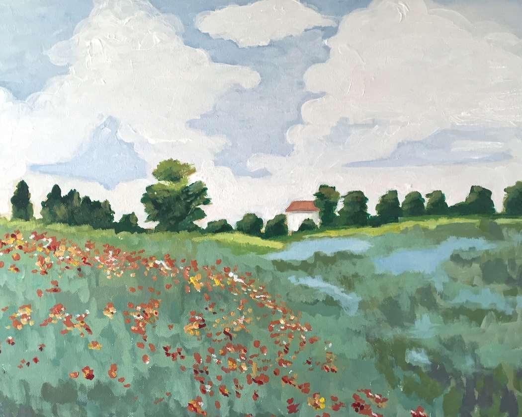 Monet's Field of poppies