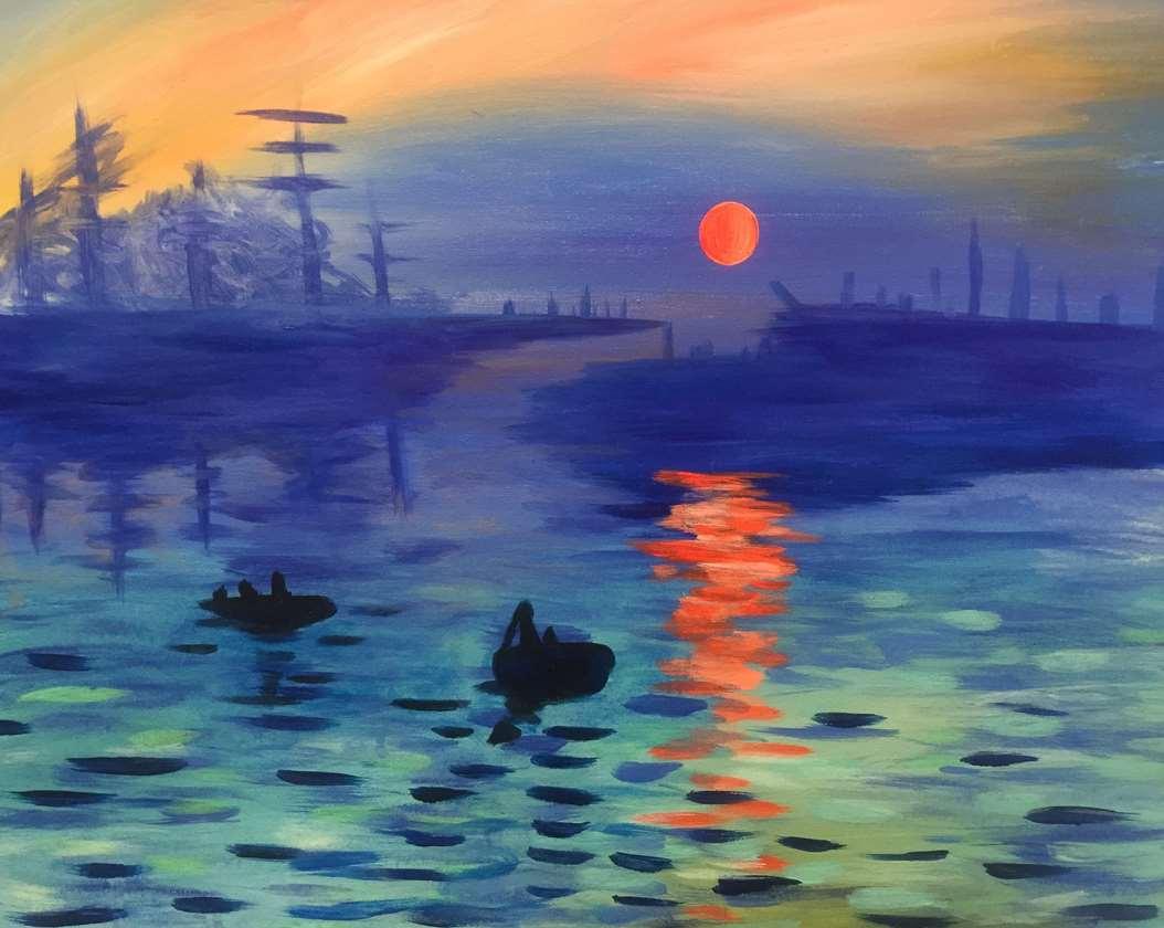 Live Virtual Event from San Bruno: Monet's Impression, Sunrise