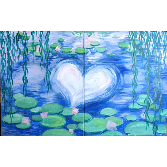 DATE NIGHT!  PAINT SIDE BY SIDE WITH YOUR 'OTHER'