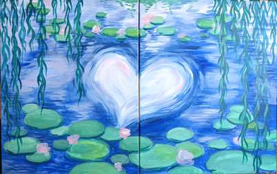 Monet's Lily Pond - Date Night
