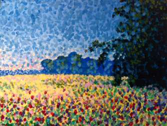 Monet's Poppy Field