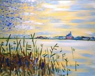 Monet's River Seine
