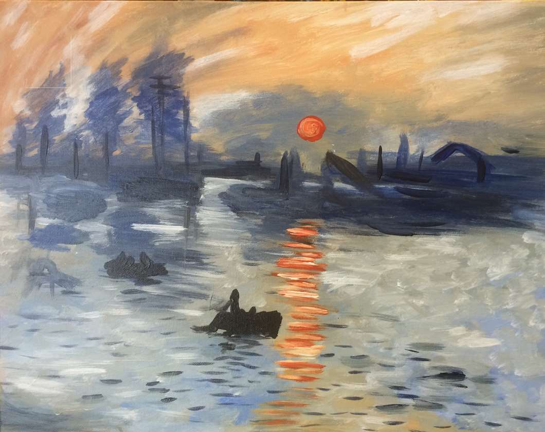 Tribute to Monet!
