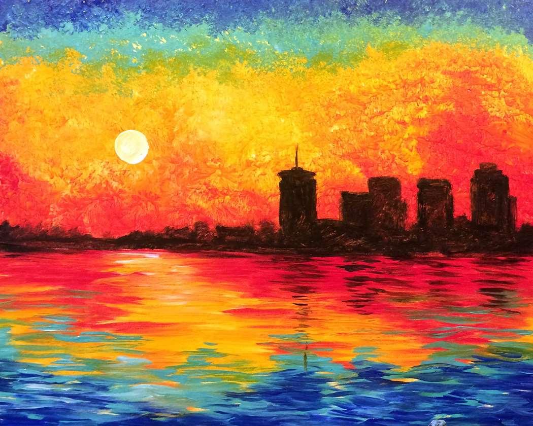 Monet's Tulsa Sunrise