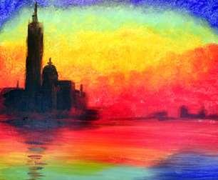 Monet's Venice Twilight