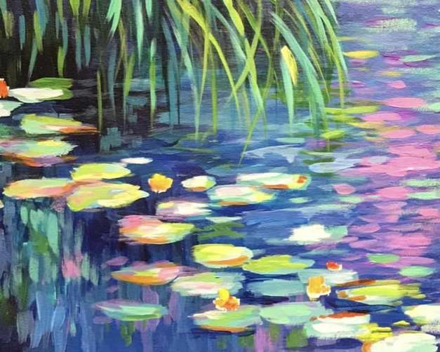 Monet's Water Lilies - In Studio Event - Limited Seating Available