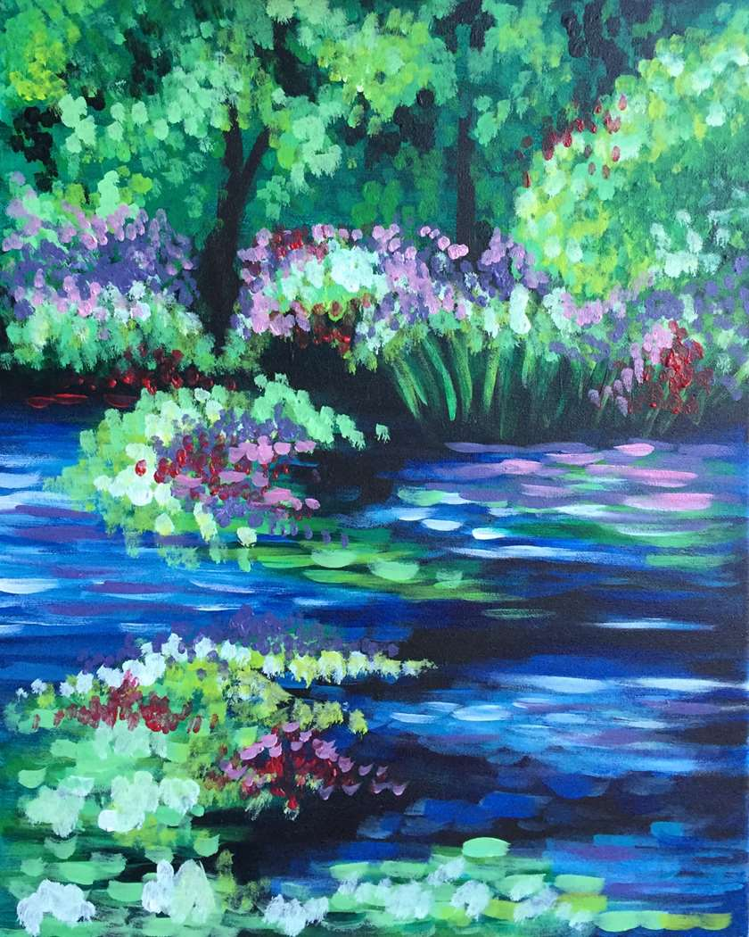 MONET'S WONDERLAND - CHOOSE YOUR SIZE AND SURFACE