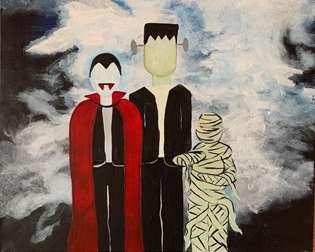 Monster Mash Trio