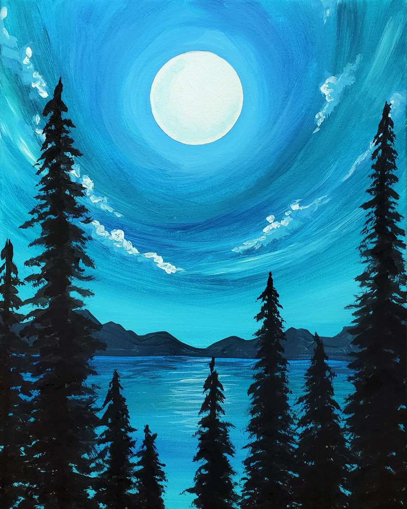 Moon Glow Forest