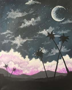 Moon over Maui