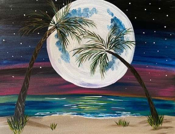 Moon Over Paradise - In Studio Event - Limited Seating Available