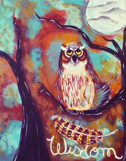 Moon-wise Owl!