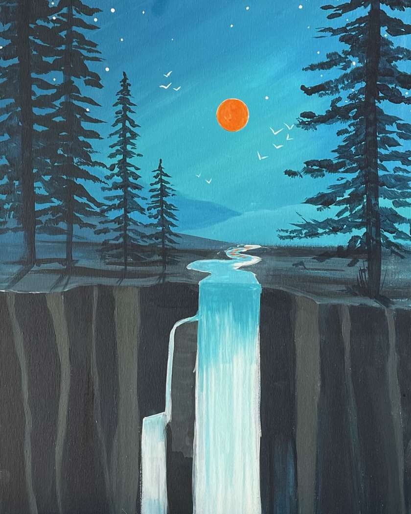 Moonlight Cascade