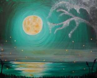 Moonlight Fireflies