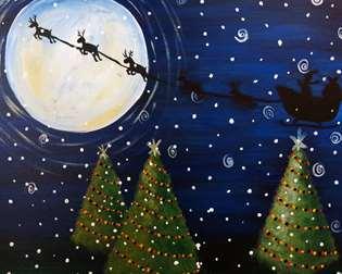 Moonlight Reindeer