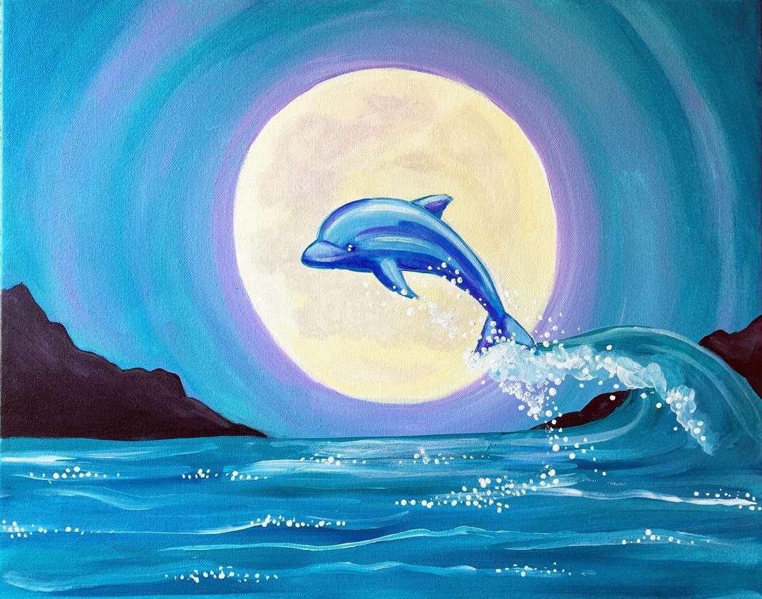Moonlight Swim