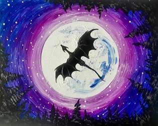 Moonlit Dragon