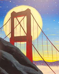 Moonlit Golden Gate