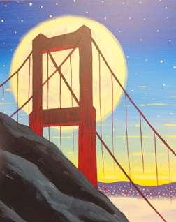 Moonlit Golden Gate